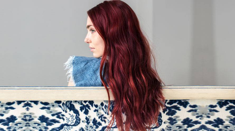 Garnier Hair Color Example Long Red Hair Color Shade