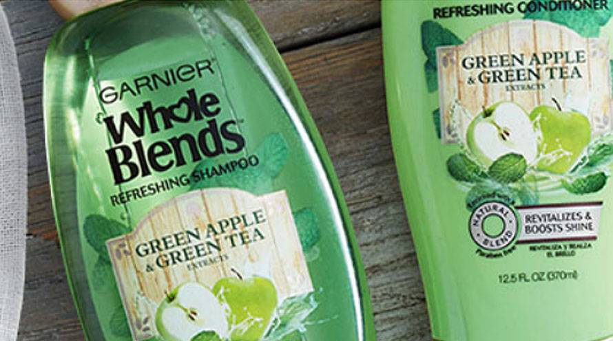Garnier Hair Care revitalize hair green apple