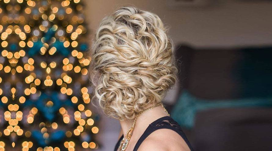 Garnier Hair Care Fructis holiday hairstyles