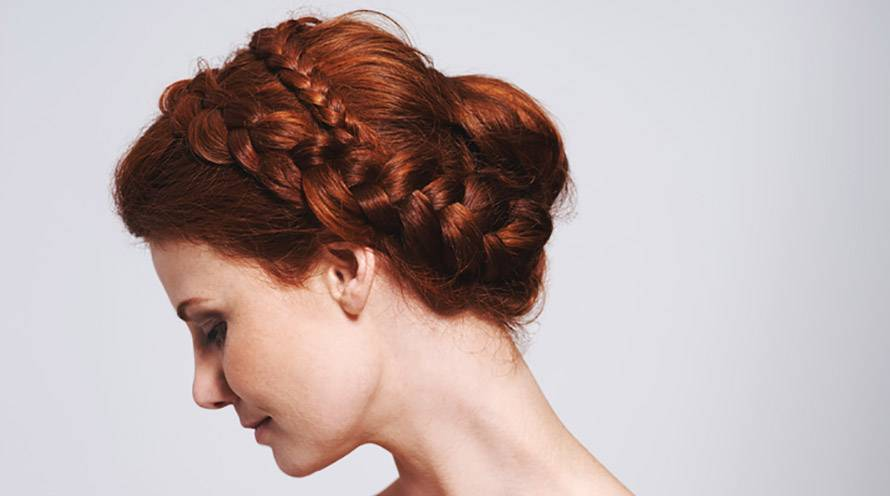 Garnier Fructis - lighten up look with haircut, hair color, hairstyle tips - refresh average ponytail, add hair color for the new season, easy braid upgrade - go for big chop