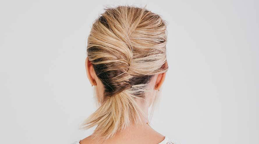 French Twist Ponytail Hairstyle