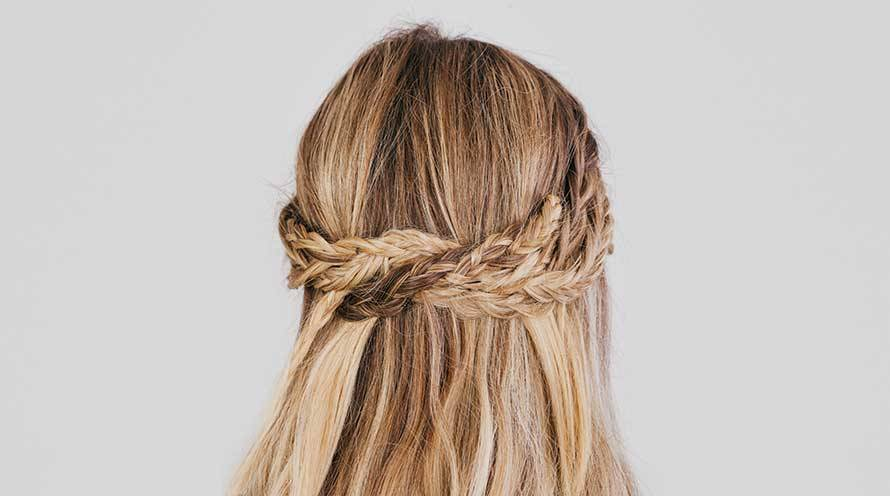 Garnier Mini Crossover Braids Hairstyle