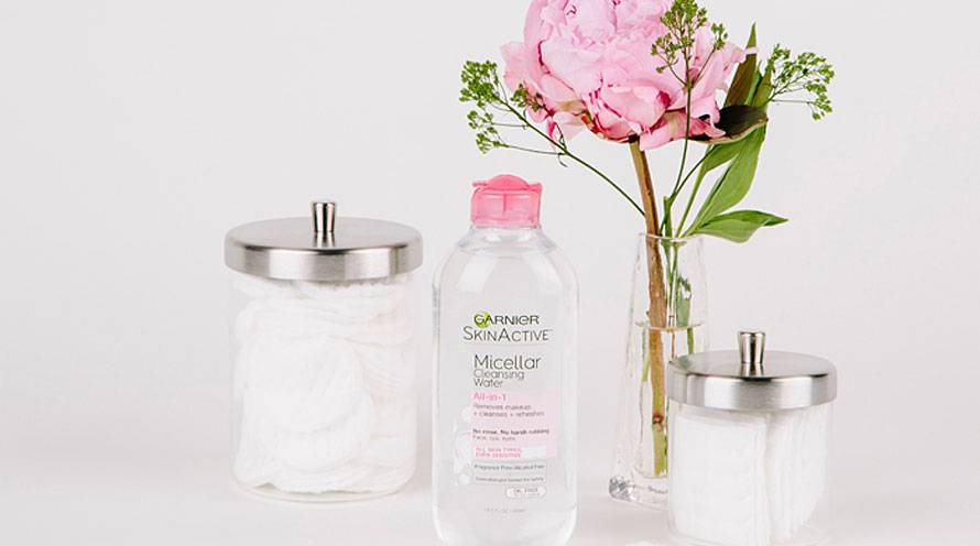 Garnier Micellar Water How to use Micellar Cleansing Water