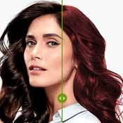 Garnier Hair Color Virtual Tryon