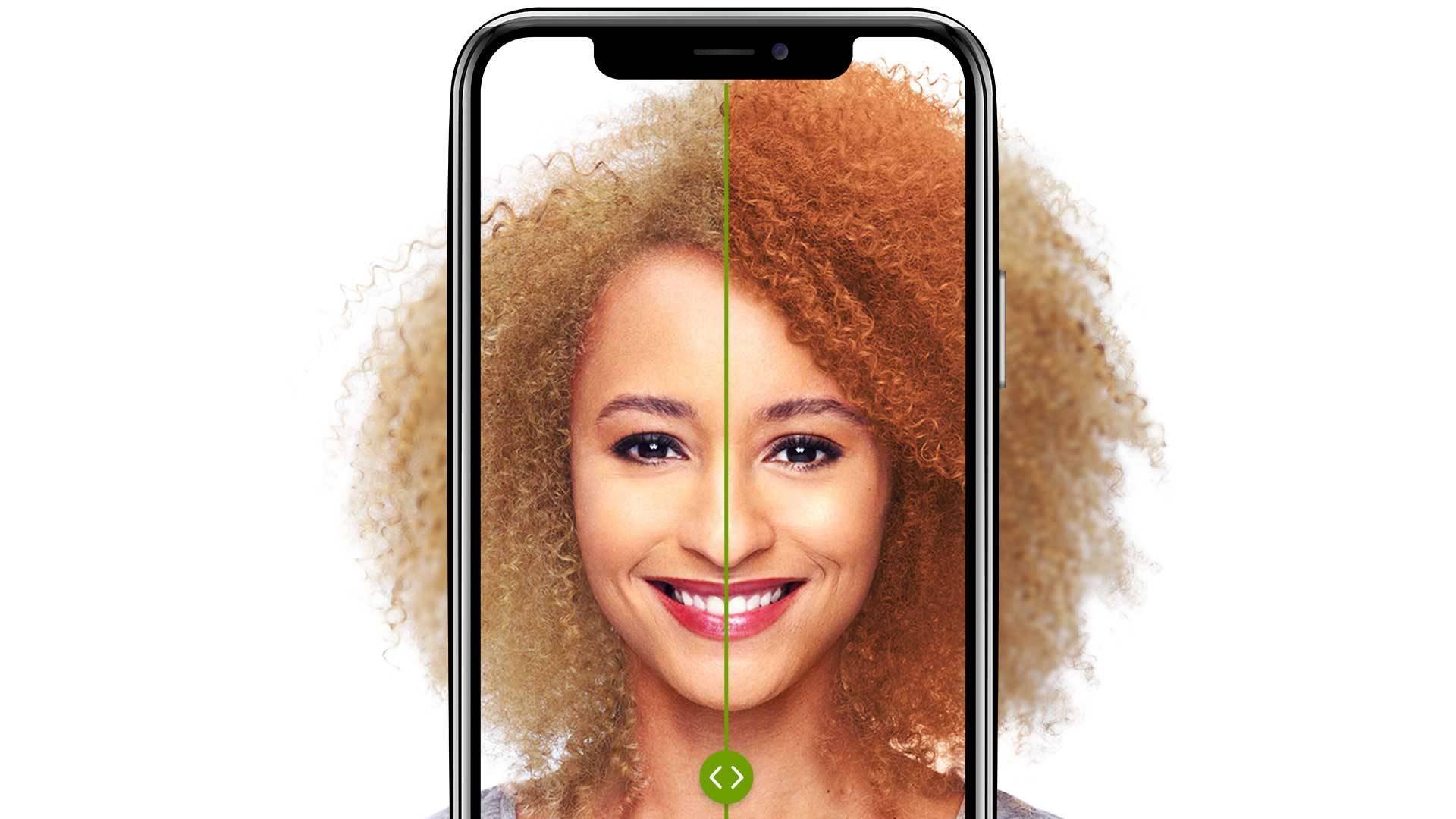 Virtual Hair Color Try On Tool Garnier