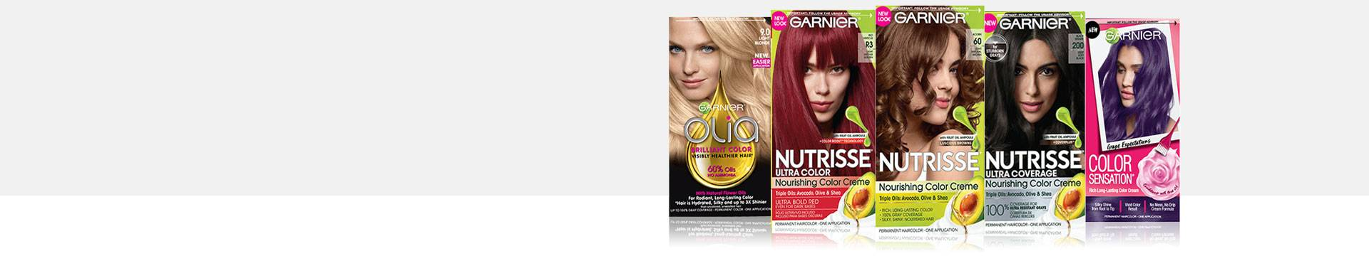 About Our Brands Permanent Temporary Hair Color Garnier