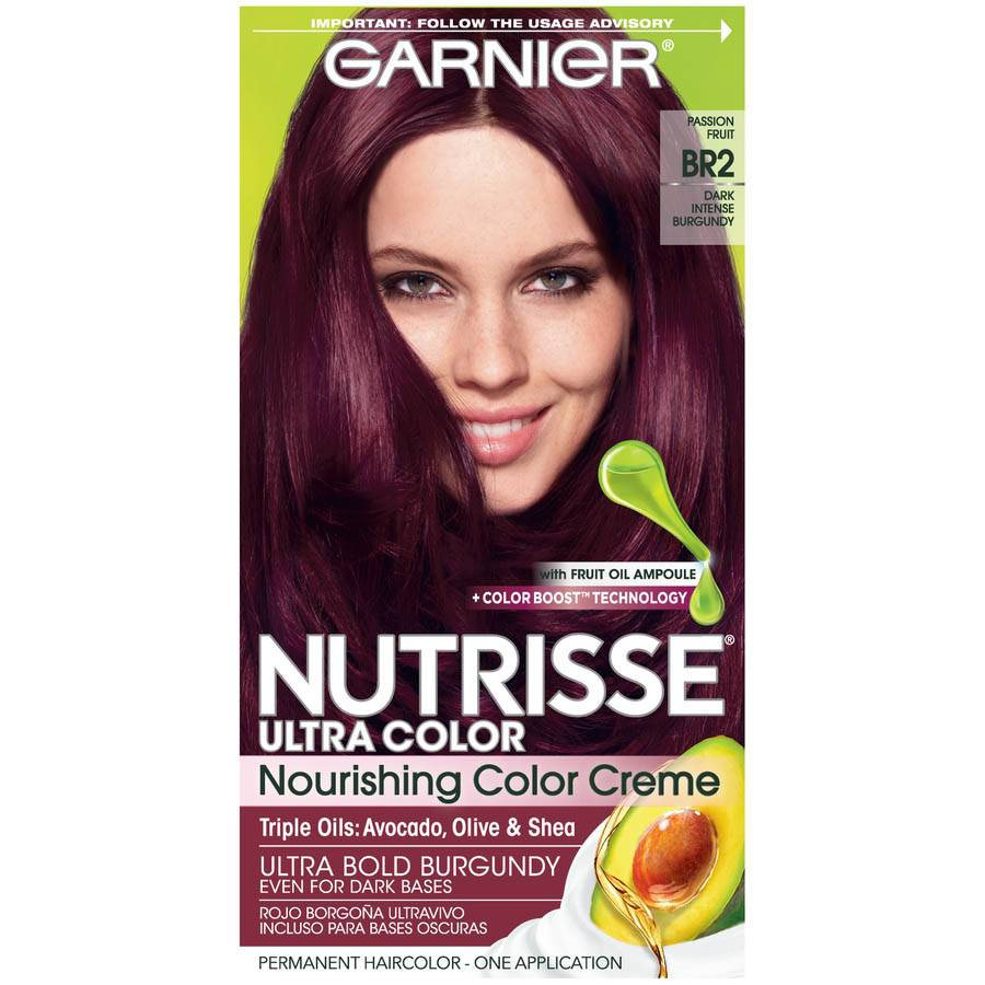 Nutrisse Ultra Color Dark Intense Burgundy Hair Color Garnier