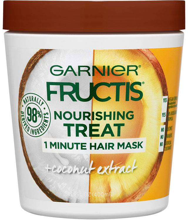Garnier Fructis Nourishing Treat 1 Minute Hair Mask + Coconut Extract 400ml