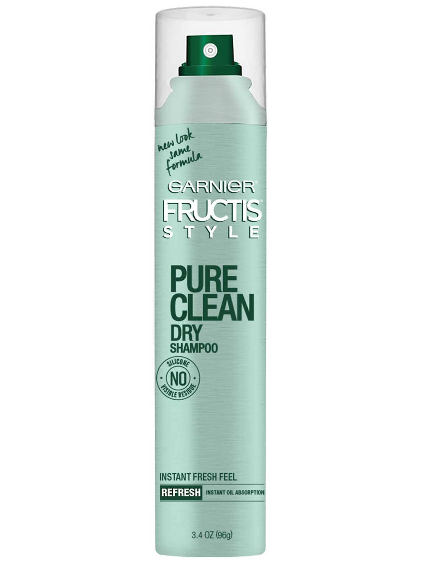 Front view of Pure Clean Dry Shampoo.