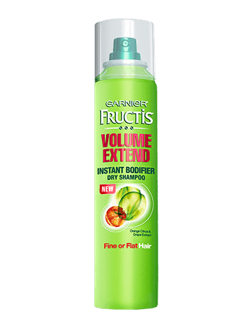Garnier volume extend instant bodified dry shampoo
