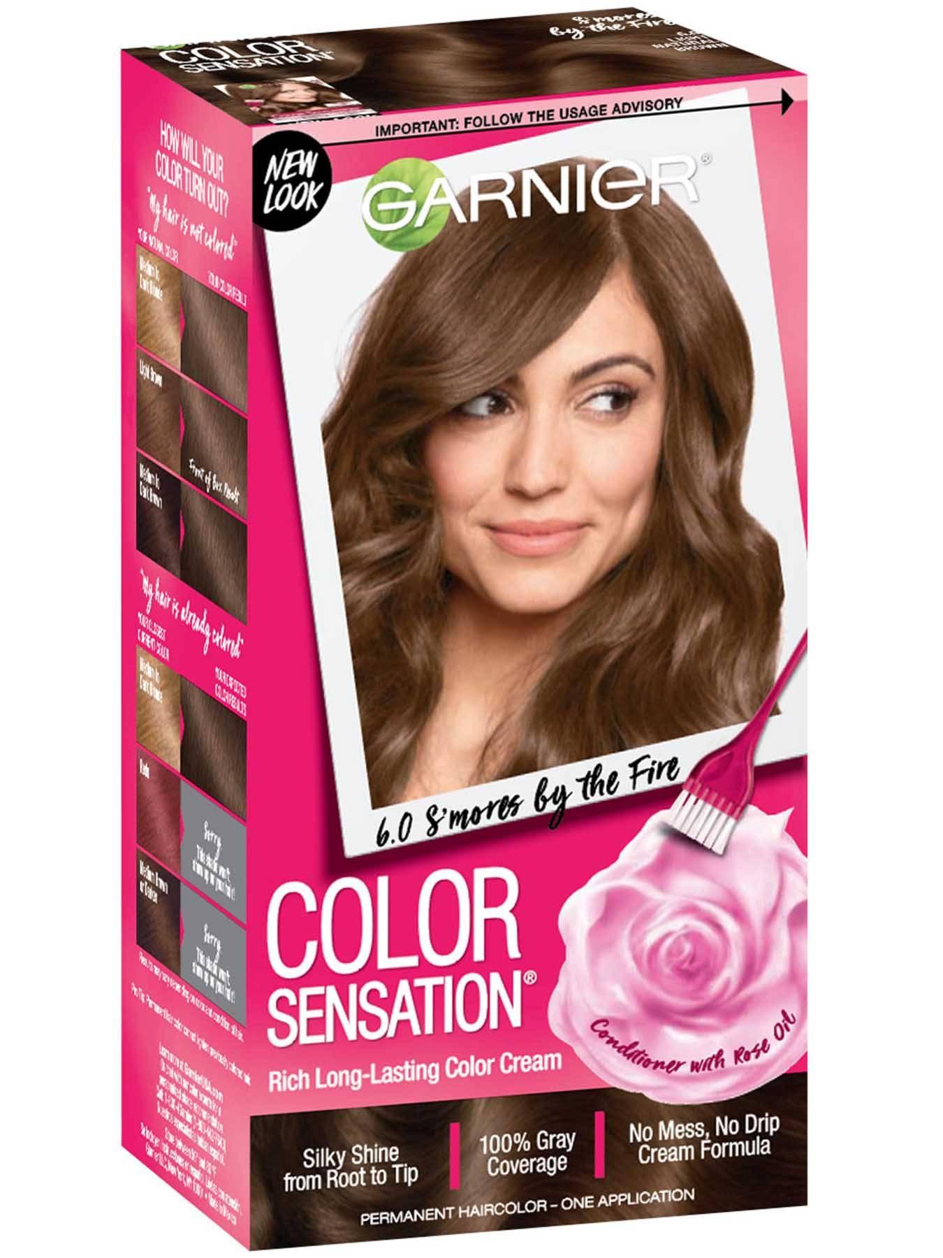 Color Sensation Long Lasting Permanent Hair Color Garnier