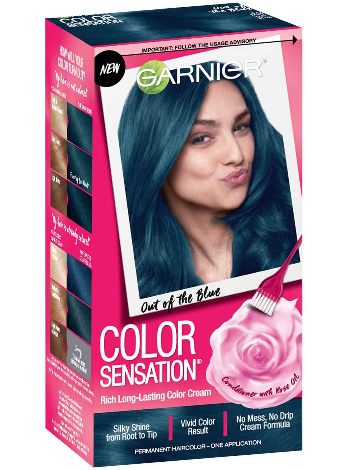 Permanent Black Hair Color Hair Dye Products Garnier