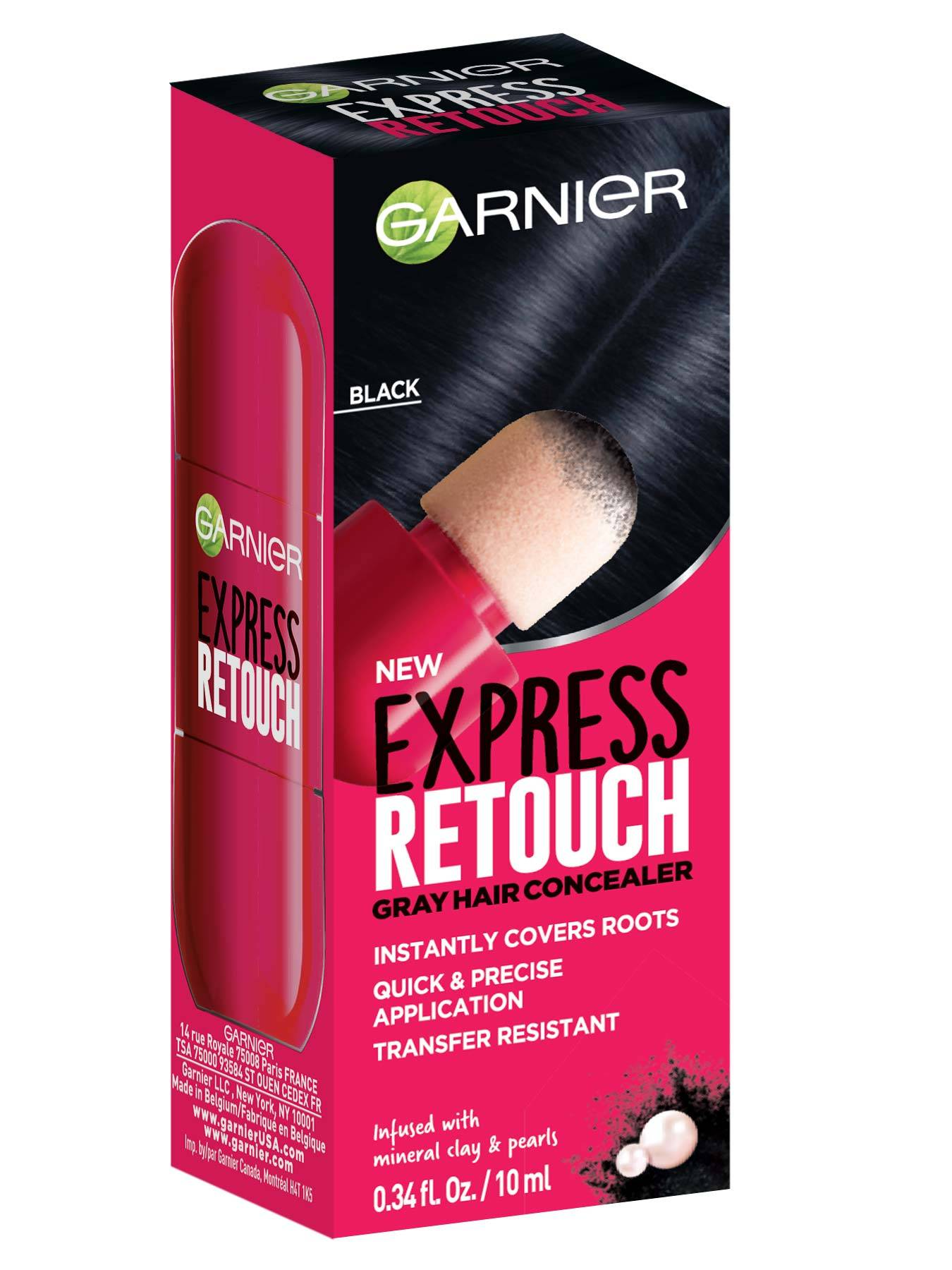 Express Retouch Black Front packshot - Temporary Root Touchup