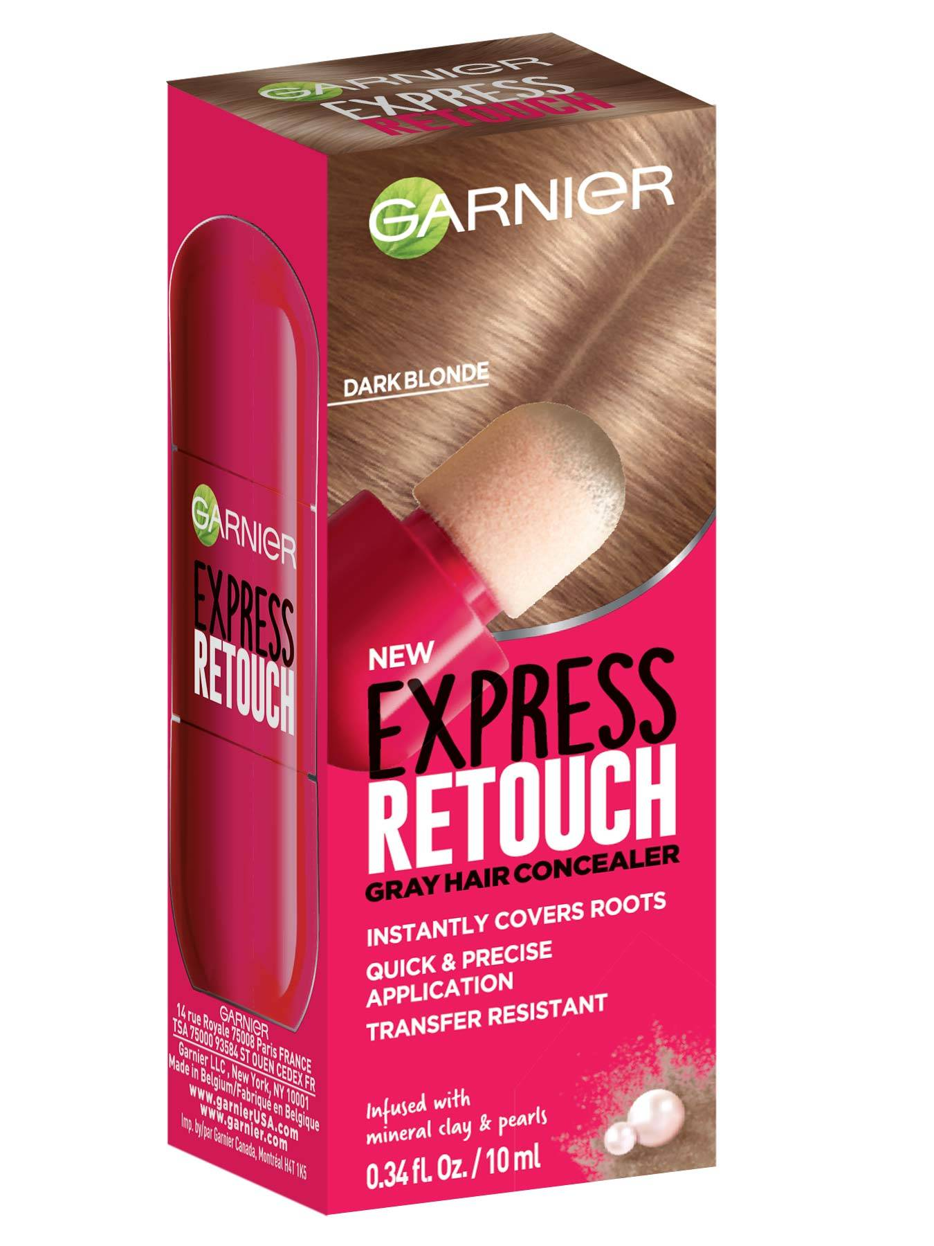 Express Retouch Dark Blonde Front packshot - Temporary Root Touchup