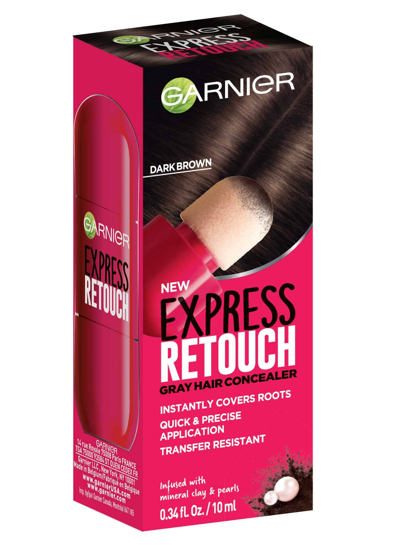 Express Retouch Dark Brown Front packshot - Temporary Root Touchup