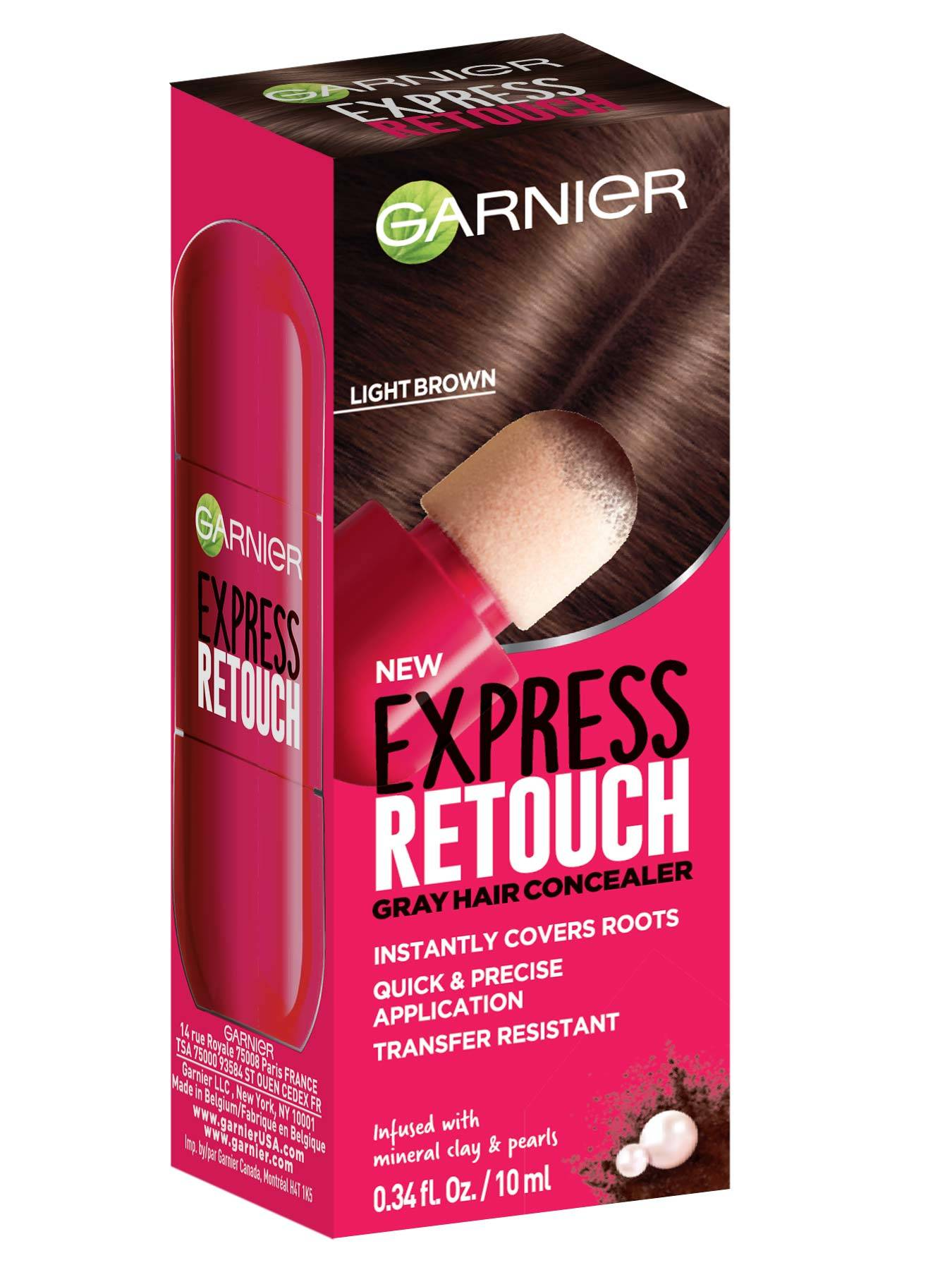 Express Retouch Light Brown Front packshot - Temporary Root Touchup