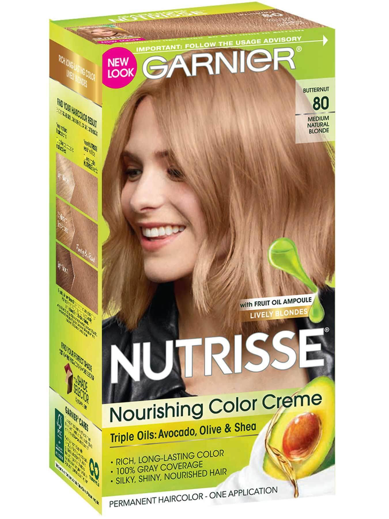 Nourishing Color Creme Medium Natural Blonde 80 (Butternut).
