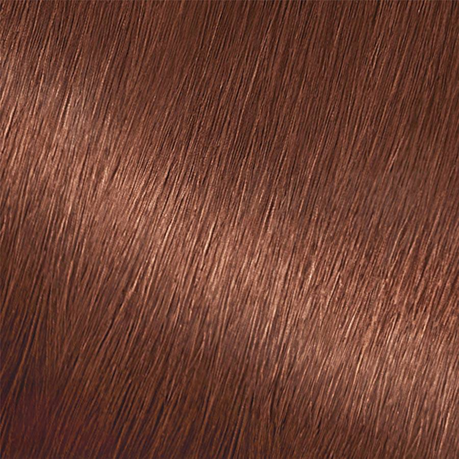 Garnier Nutrisse Color Creme 535 - Golden Mahogany Brown Chocolate Caramel Permanent Hair Color