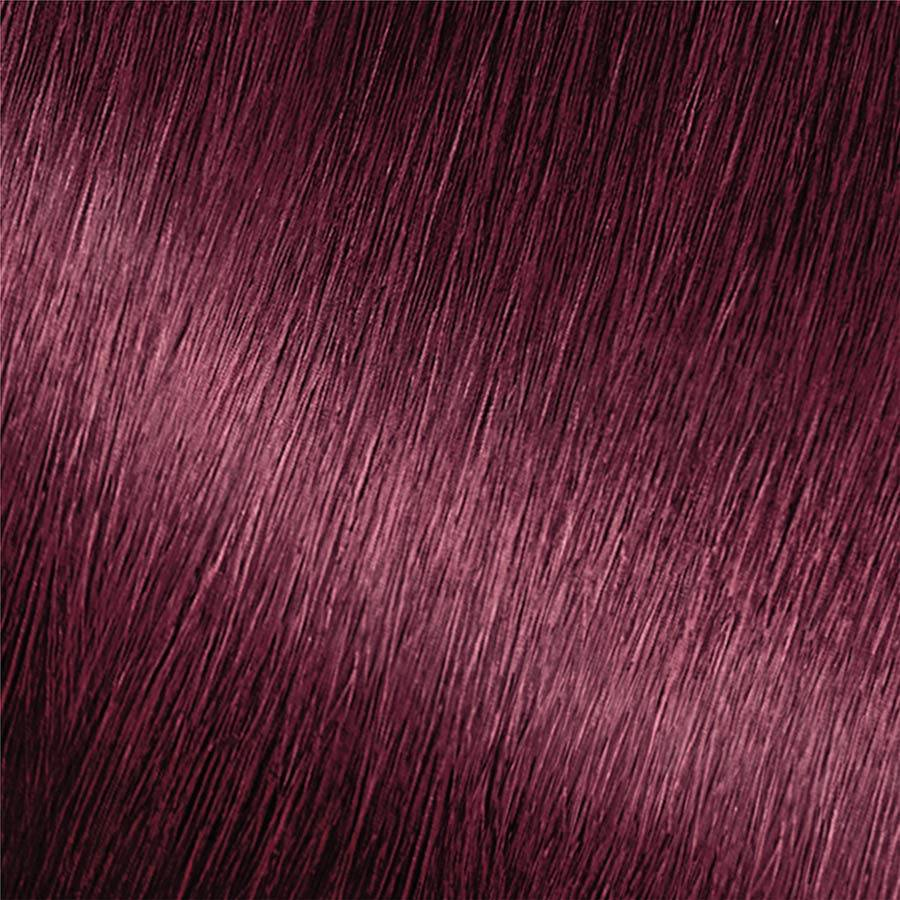 Garnier Nutrisse Nourishing Color Creme 462 - Dark Berry Burgundy Permanent Hair Color for rich, long-lasting, grey coverage, silky, shiny nourished hair
