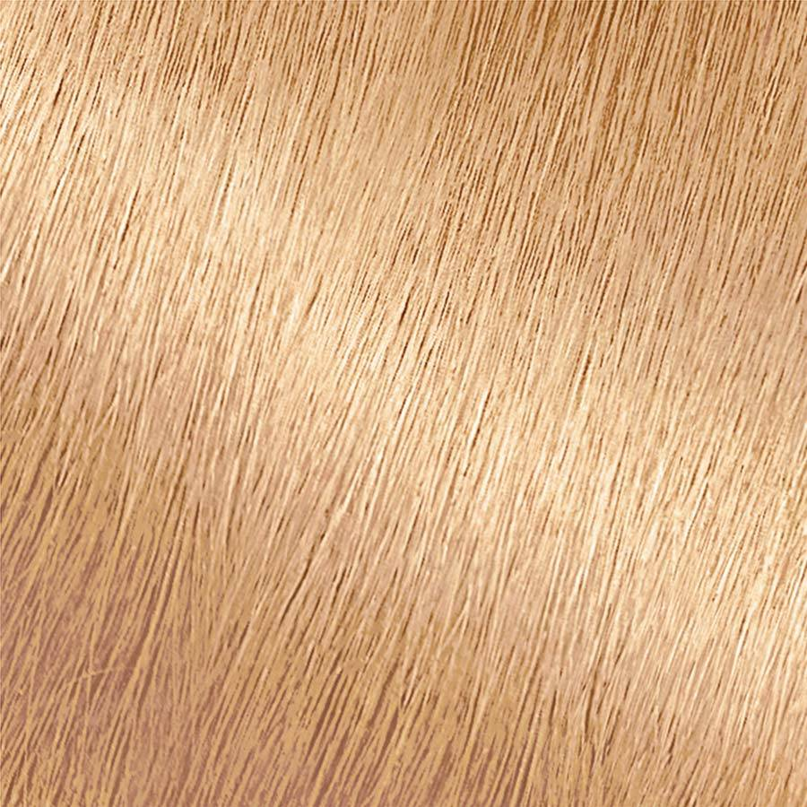 Garnier Nutrisse Nourishing Color Creme 92 - Light Buttery Blonde Permanent Hair Color Swatch