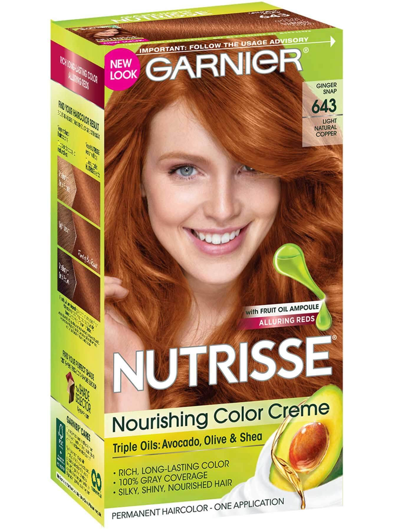 Nutrisse Nourishing Color Creme Light Intense Copper Garnier