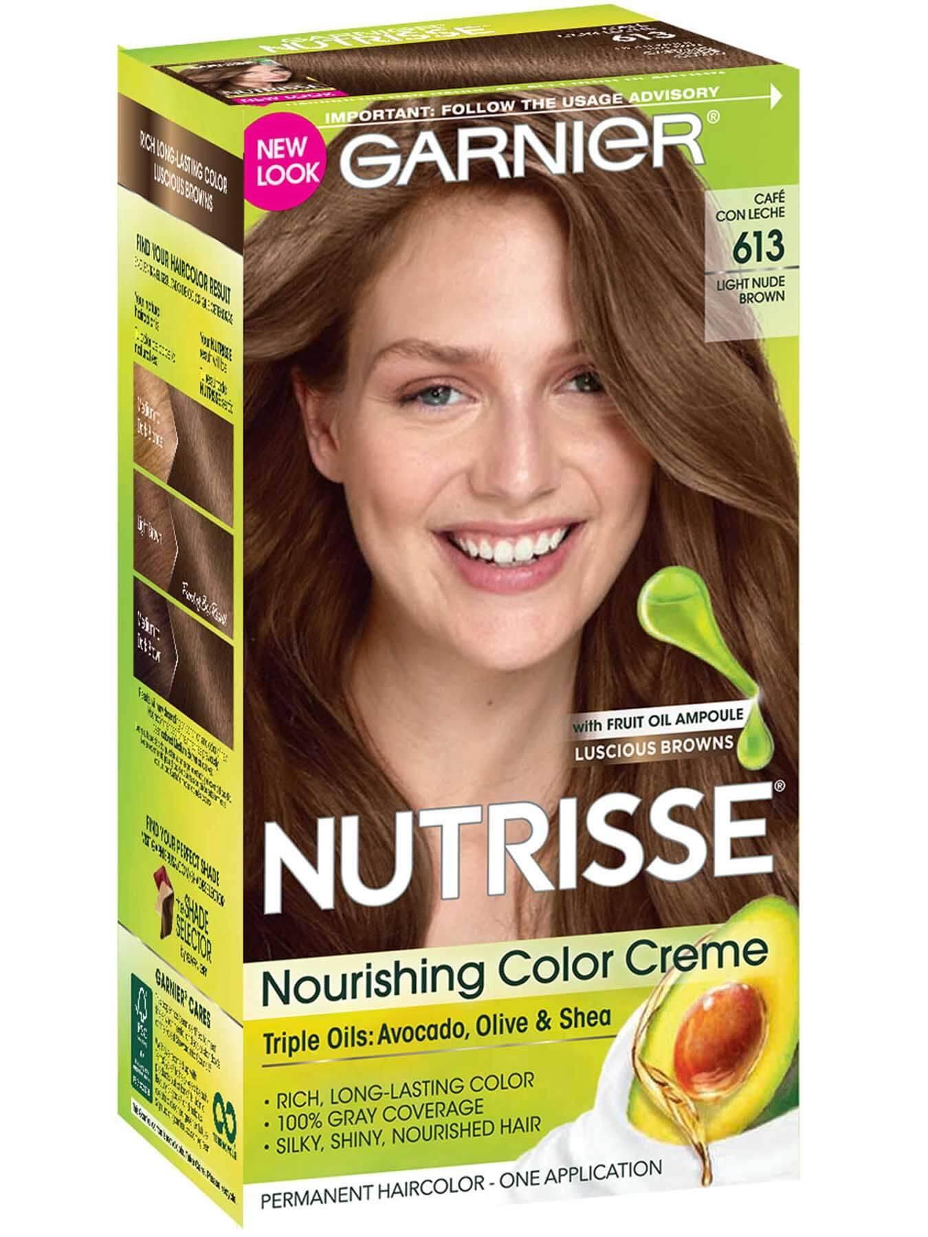 Nutrisse Color Creme Light Nude Brown Hair Color Garnier