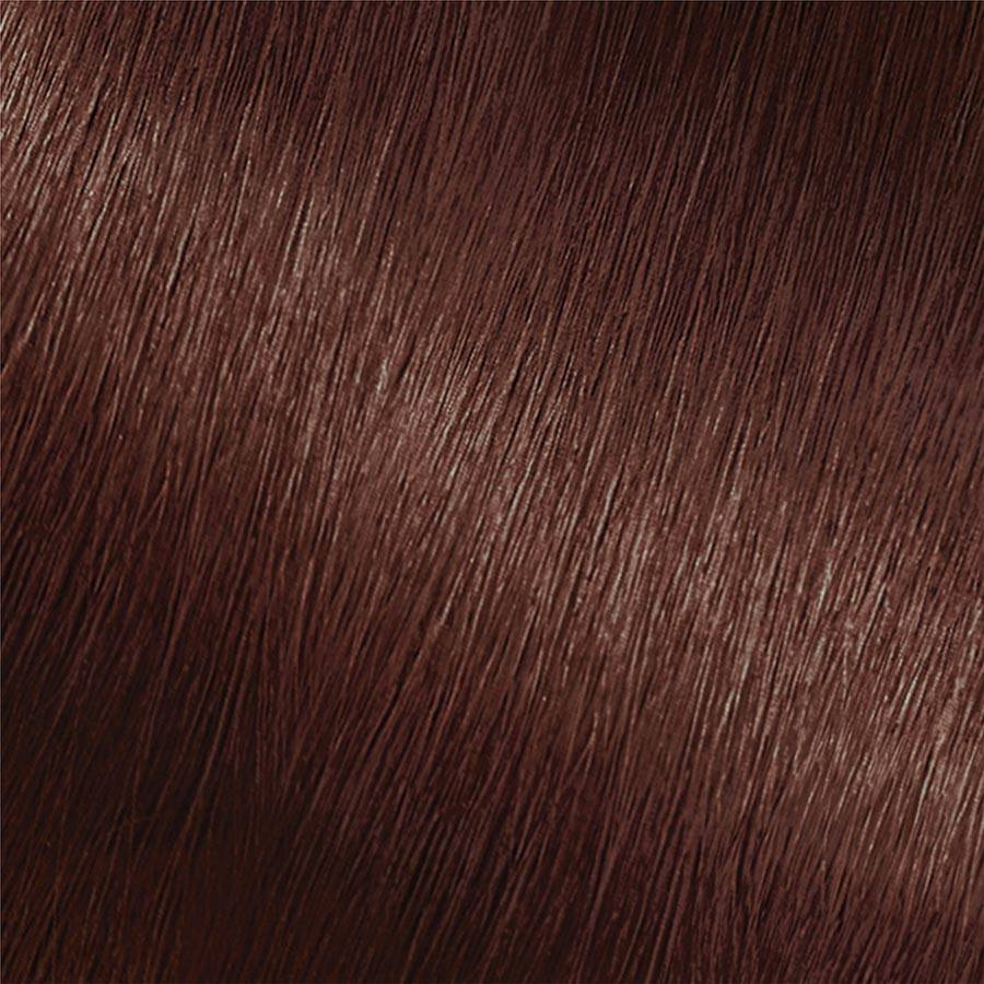 Garnier Nutrisse Color Creme 415 - Soft Mahogany Dark Brown (Raspberry Truffle) Permanent Hair Color