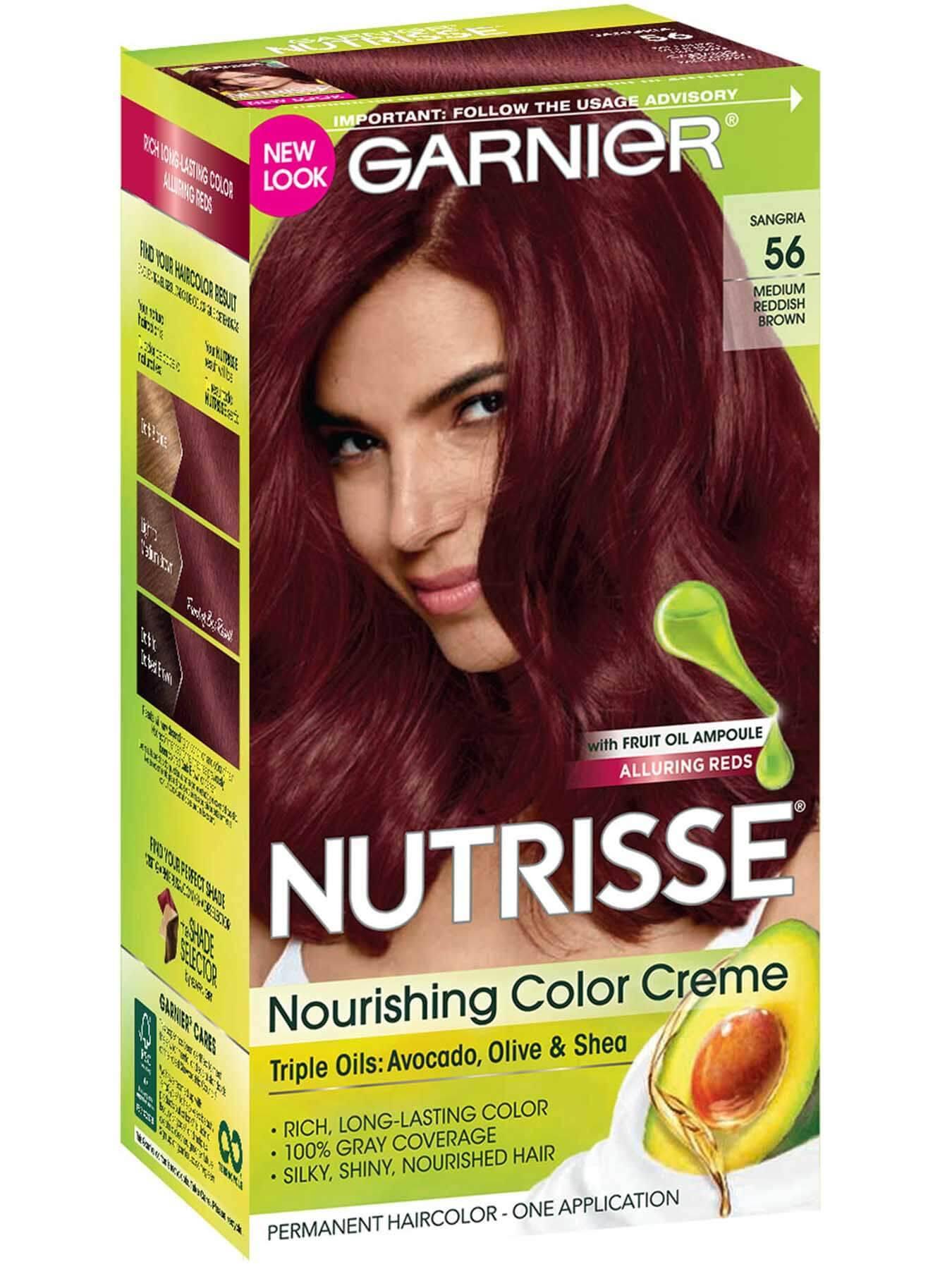 Brown Hair Color  Nutrisse Color Creme  Nourishing Permanent Hair Color  Garnier