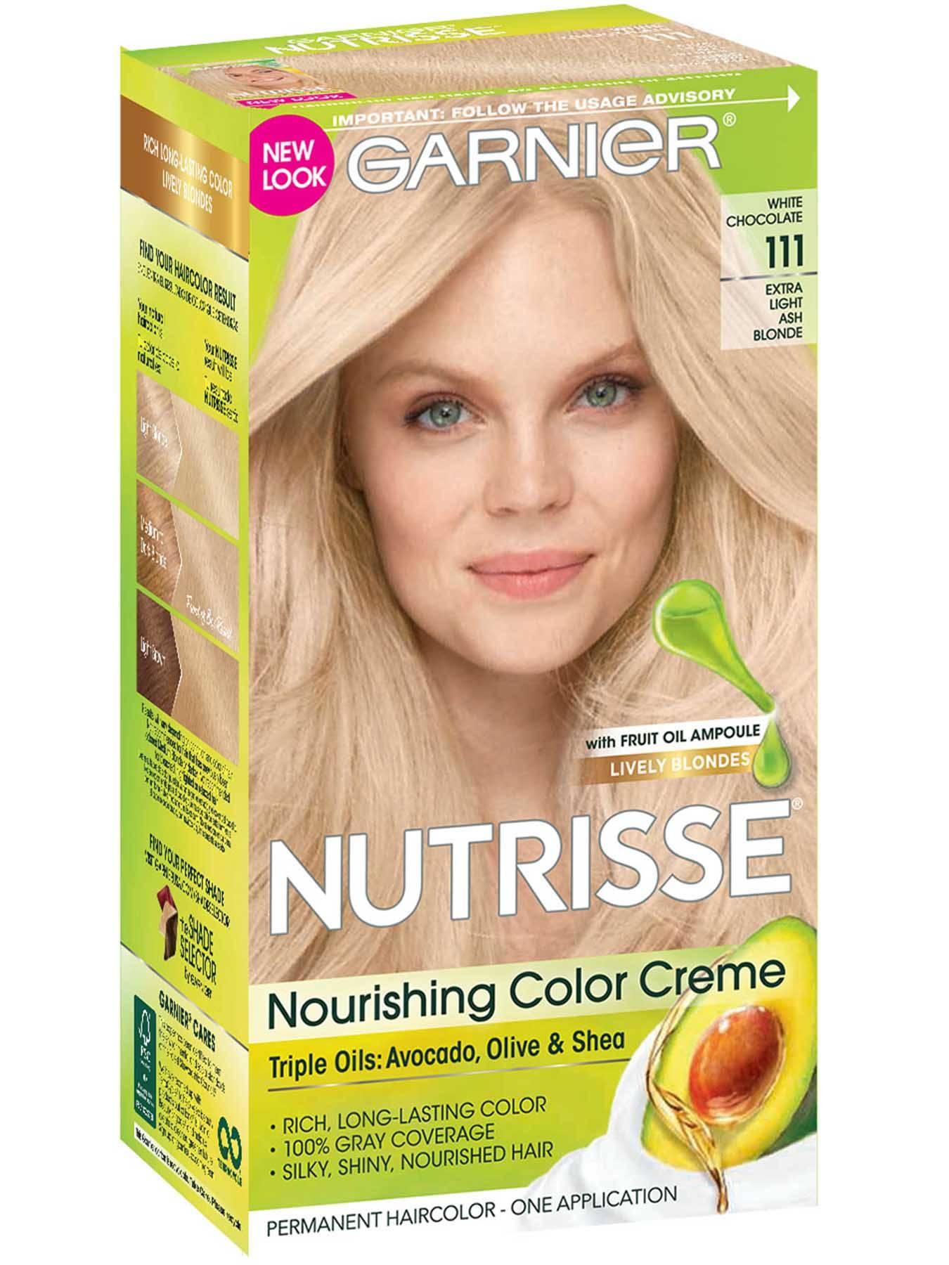 Blonde Hair Color Nutrisse Color Creme Nourishing