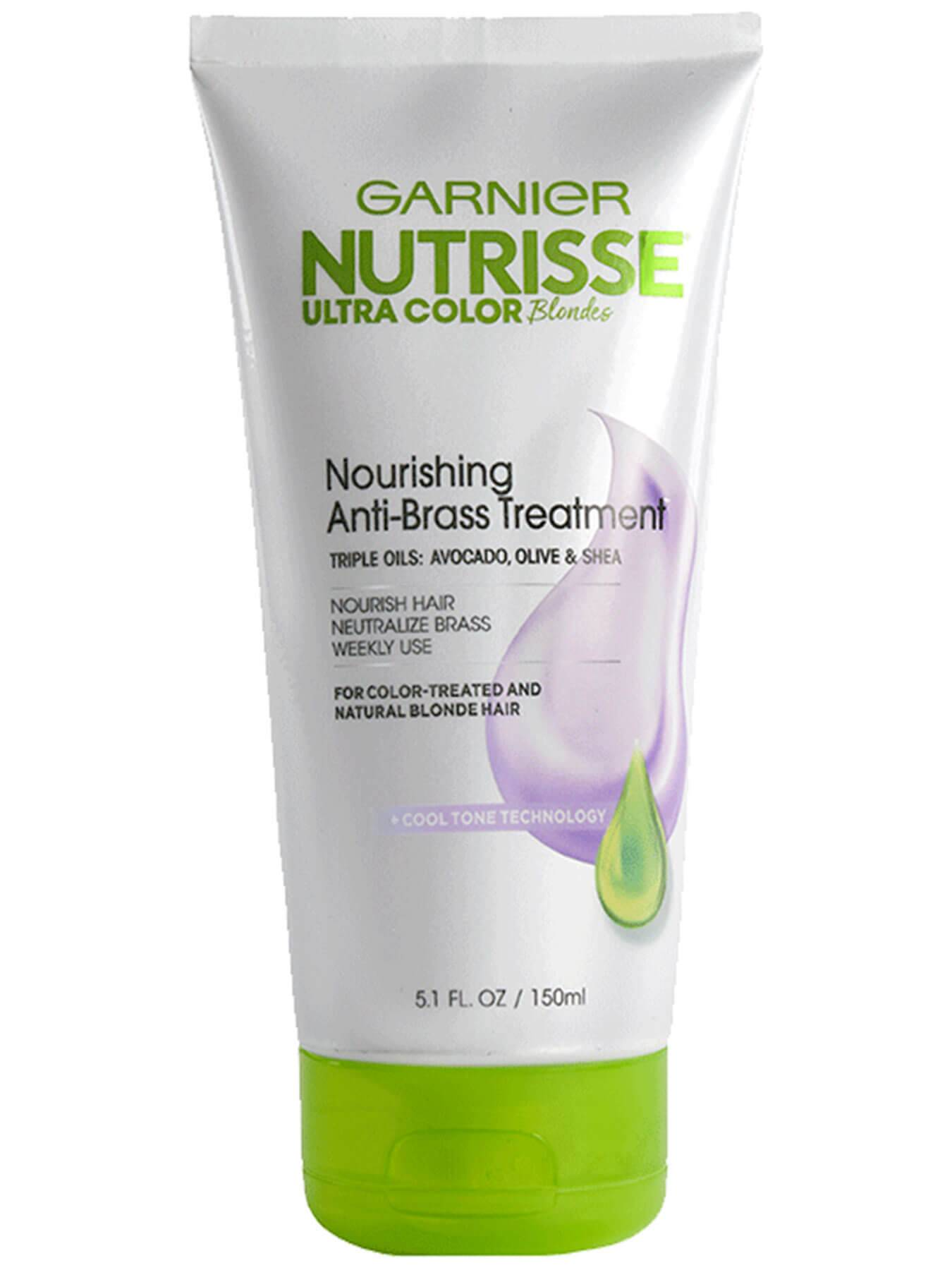 Nutrisse Ultra Color Toner Treatment For Brassy Hair Garnier