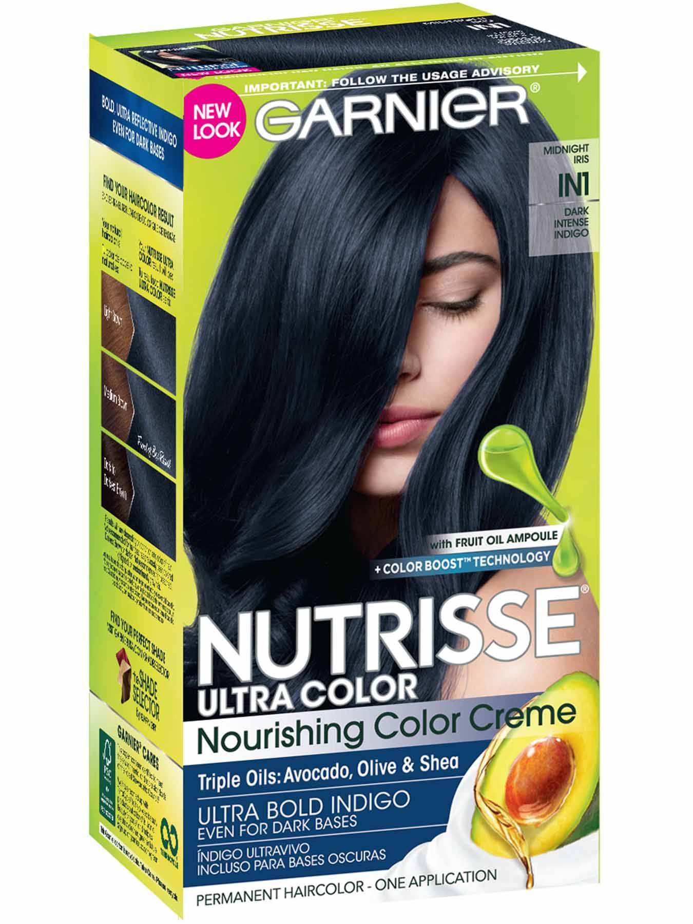 Garnier Nutrisse Nourishing Color Creme 42 Deep Burgundy Black Cherry
