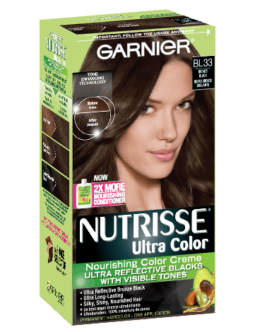 Nutrisse Ultra Color Reflective Bronze Black Hair Color