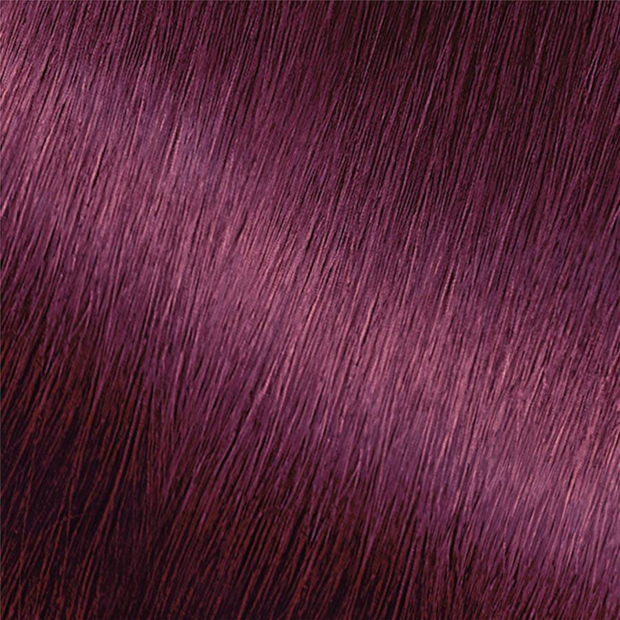 Garnier Hair Color Nutrisse Swatch Intense Violet Hair Color Swatch