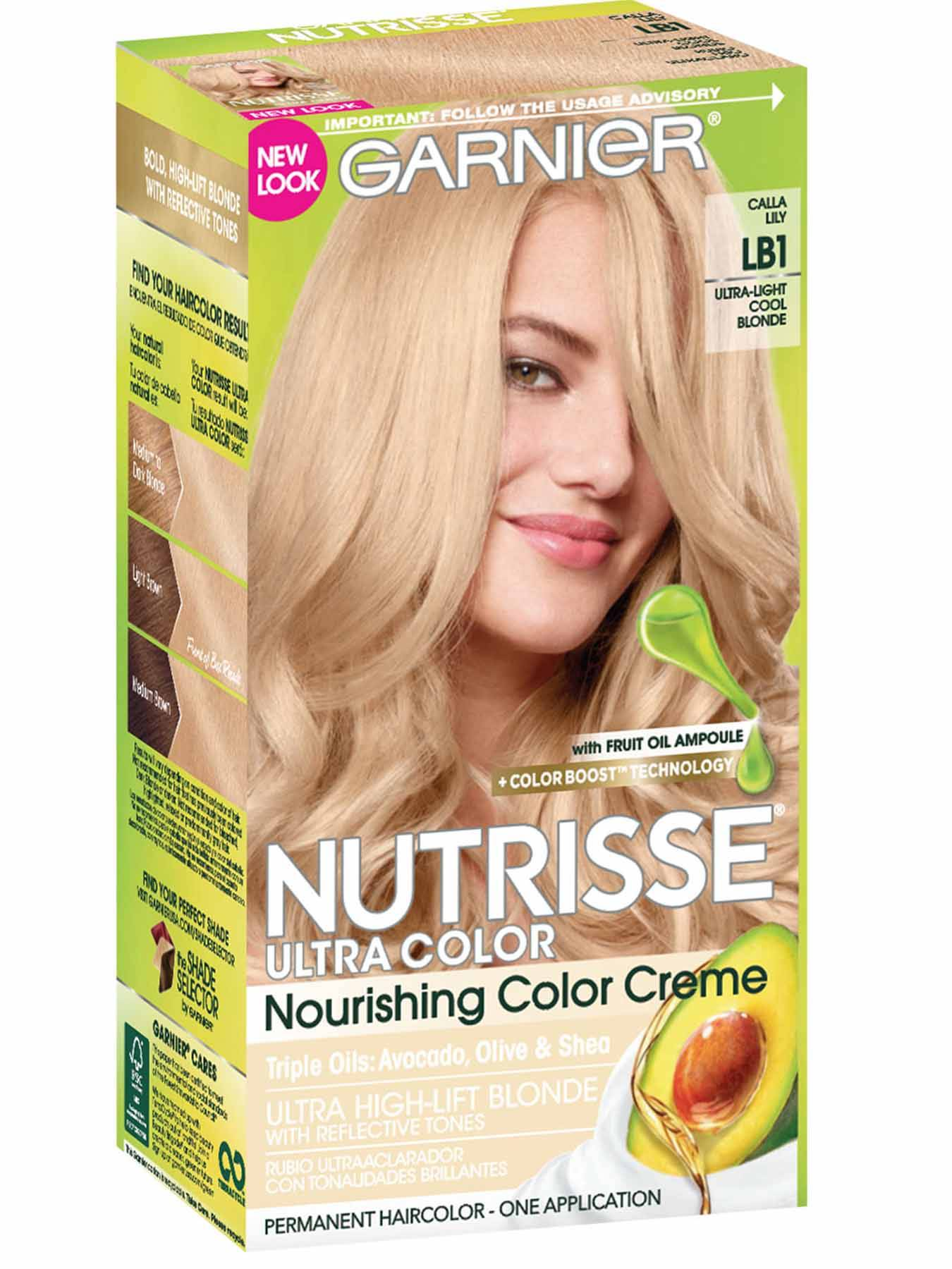 Nutrisse Ultra Color Ultra Light Cool Blonde Hair Color Garnier