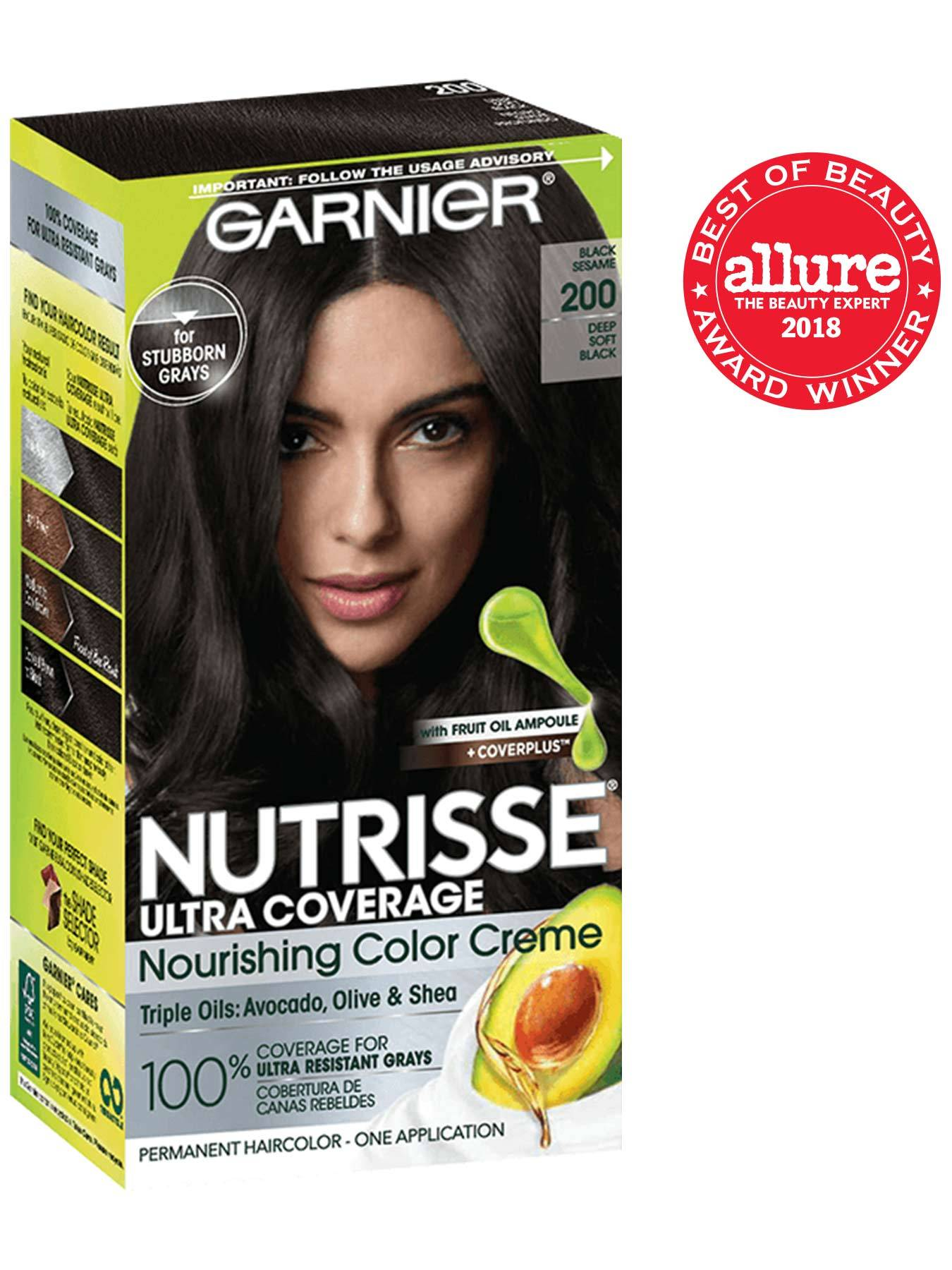 Garnier Nutrisse Ultra Coverage Black Sesame 200