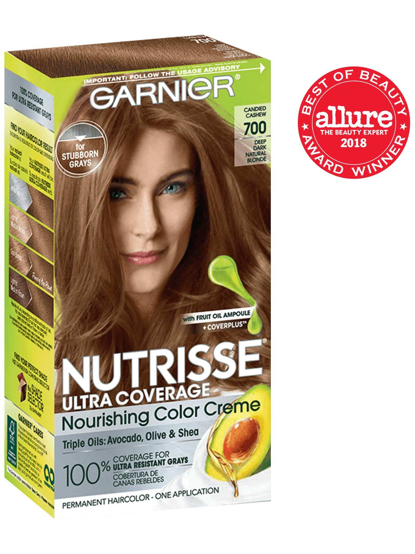 Front view of Nutrisse Ultra Coverage 700 - Candied Cashew.