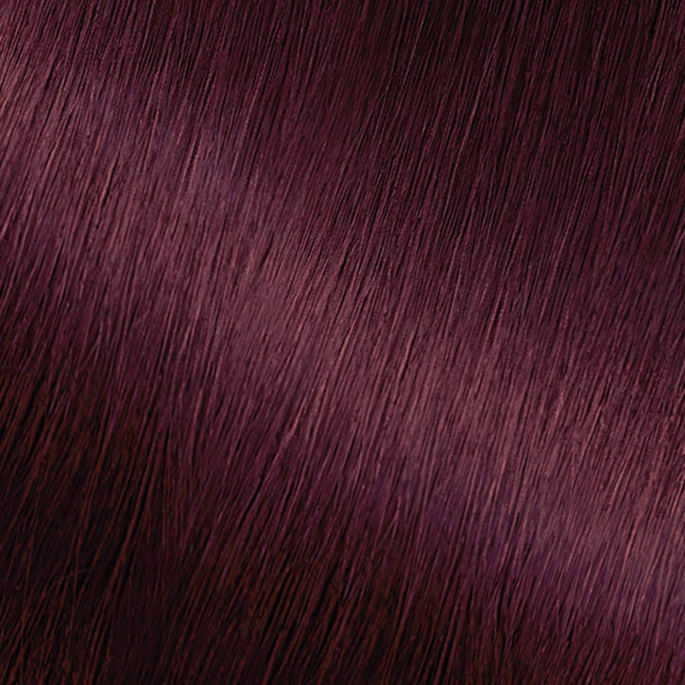 Hair Swatch of Nutrisse Ultra Coverage 420 Cabernet.
