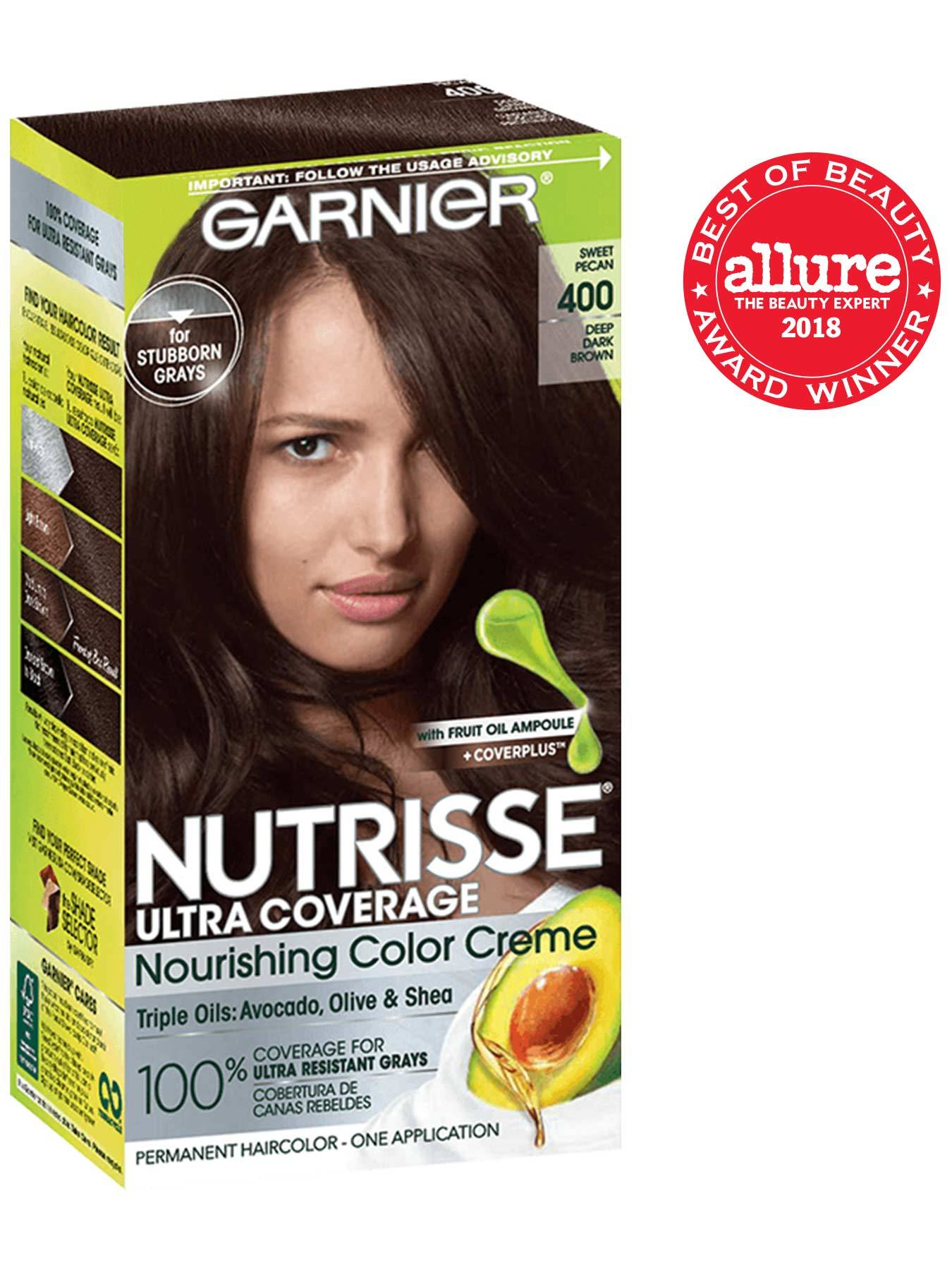 Nutrisse Ultra Coverage Neutral Dark Brown Hair Color - Garnier