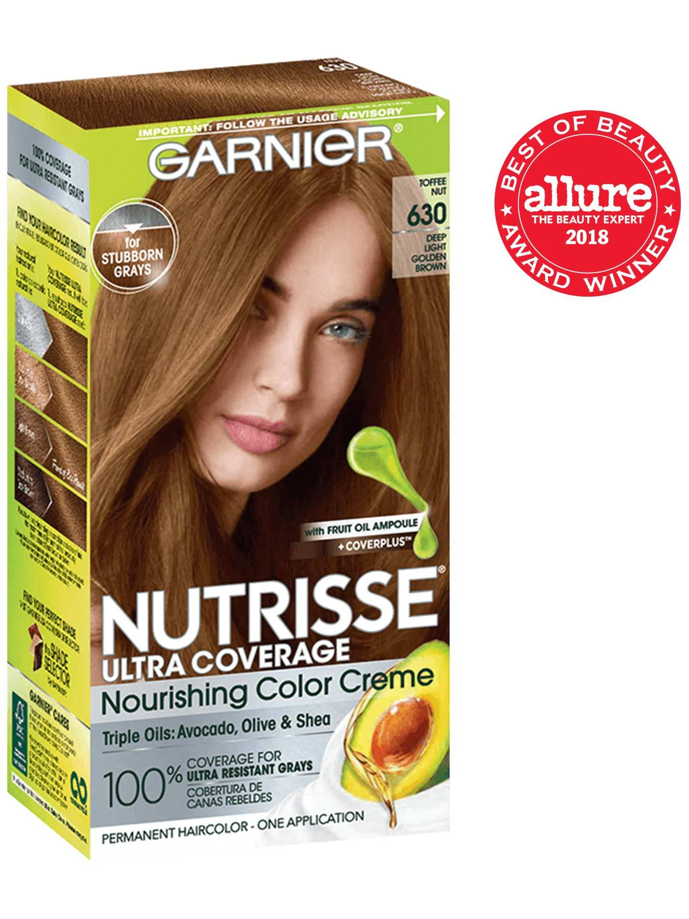 Nutrisse Ultra Coverage Light Golden Brown Hair Color Garnier