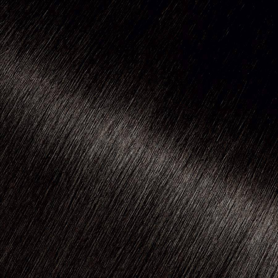 Garnier Hair Color Swatch Dark Platinum Brown Shade 4.11