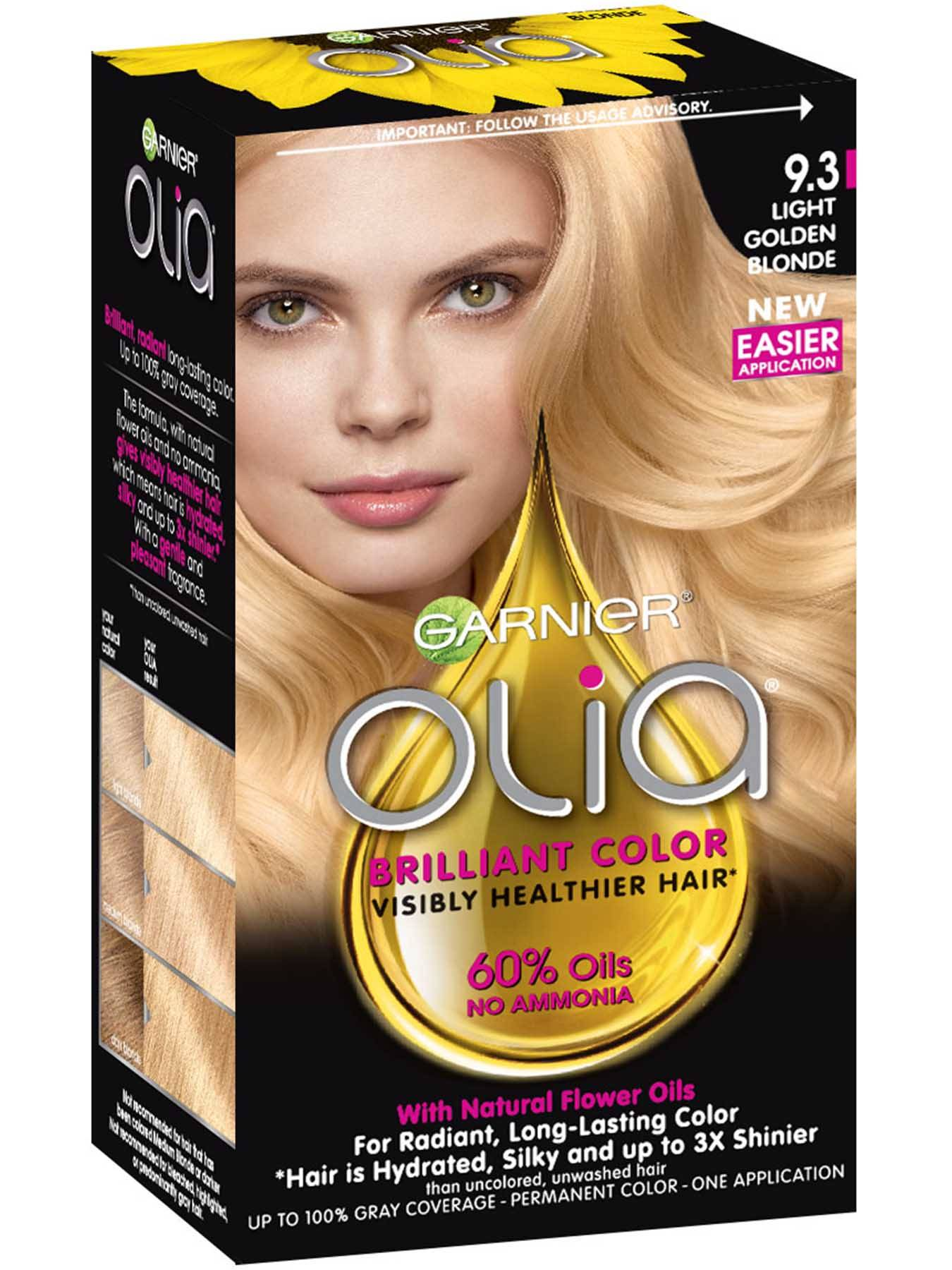 Garnier Olia 9.3 - Light Golden Blonde - Powered Permanent Hair Color
