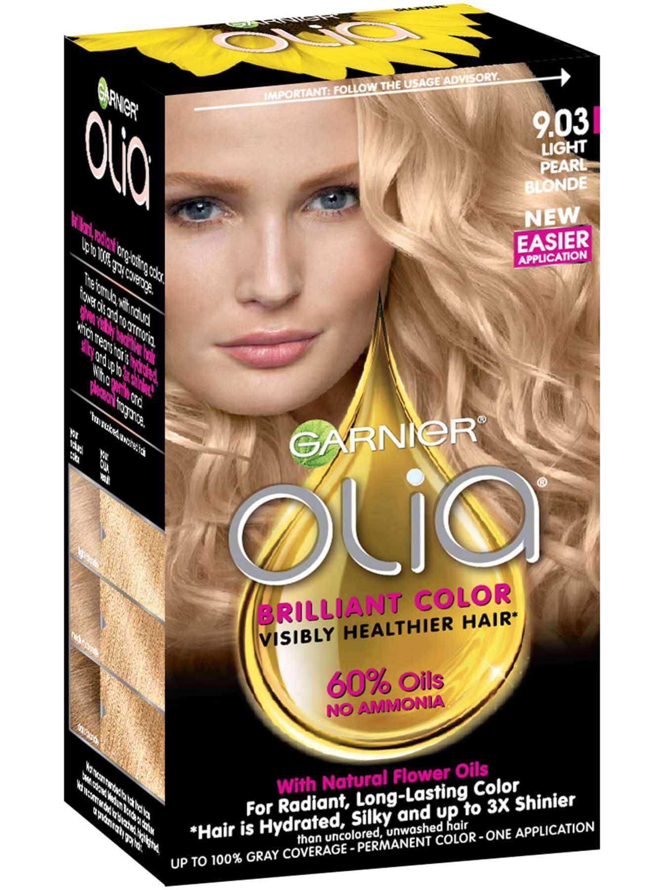 Ammonia-Free Permanent Light Pearl Blonde Hair