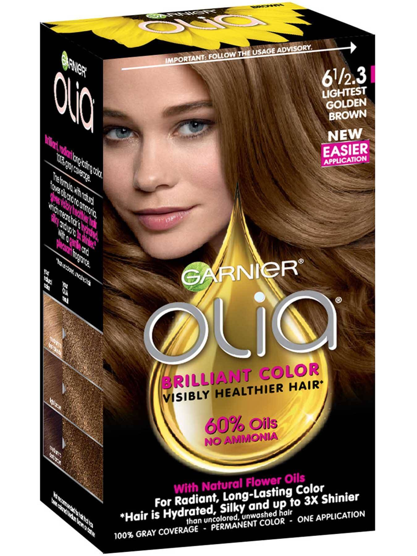 light brown hair color olia hair color oil powered