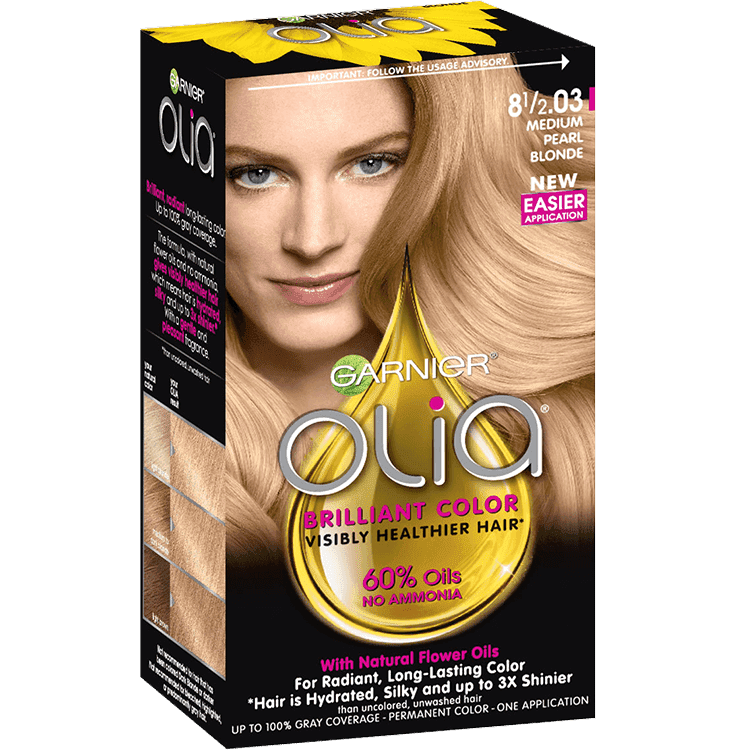 Olia Ammonia Free Permanent Hair Color Med Pearl