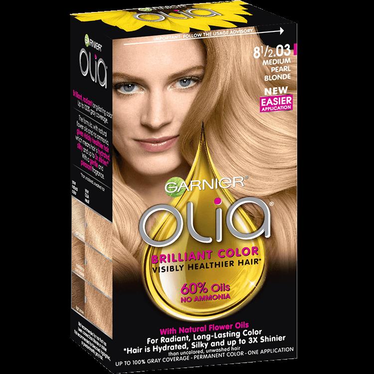 Medium Blonde Hair Color Olia Hair Color Oil Powered