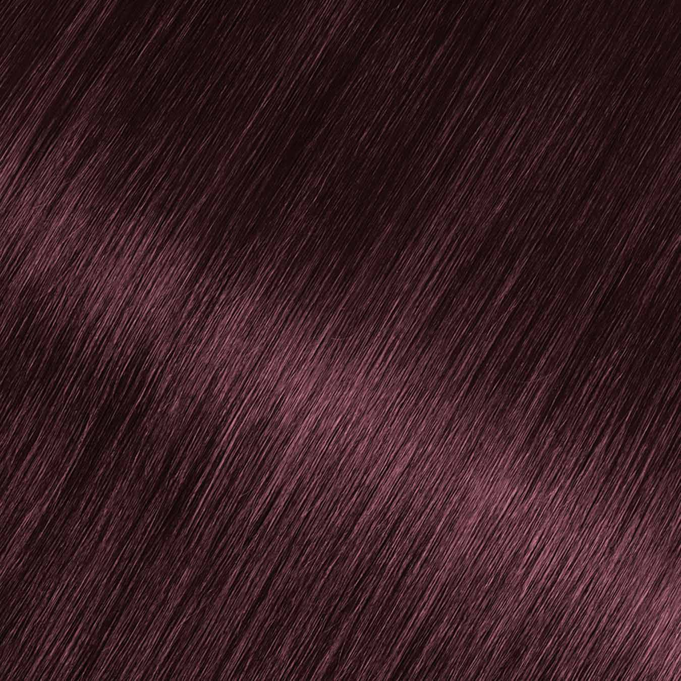 Hair Swatch of Olia Bold 5.12 - Medium Royal Amethyst.