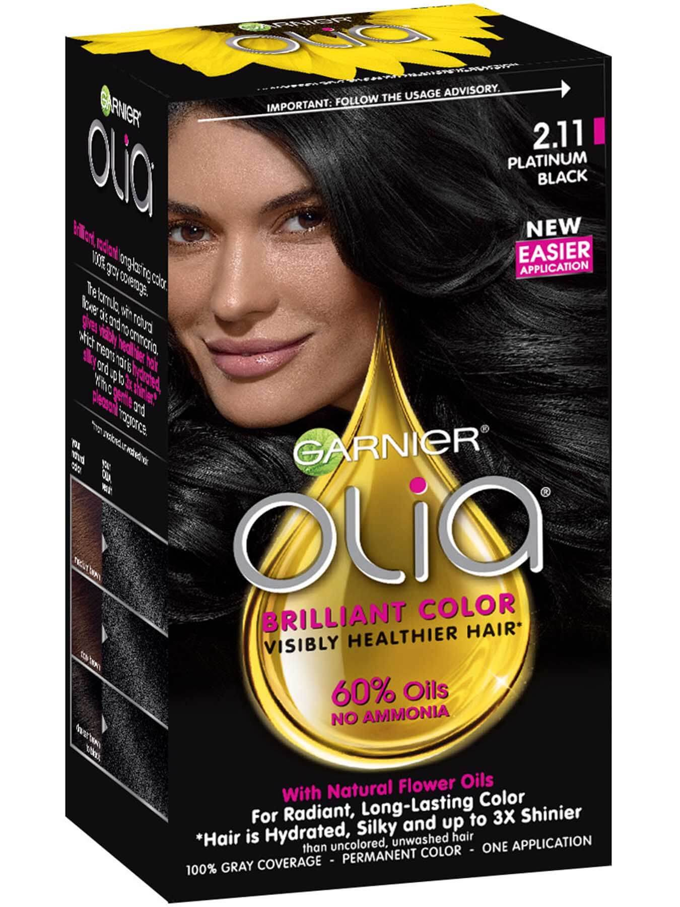 Permanent Semi Permanent Temporary Black Hair Color Garnier