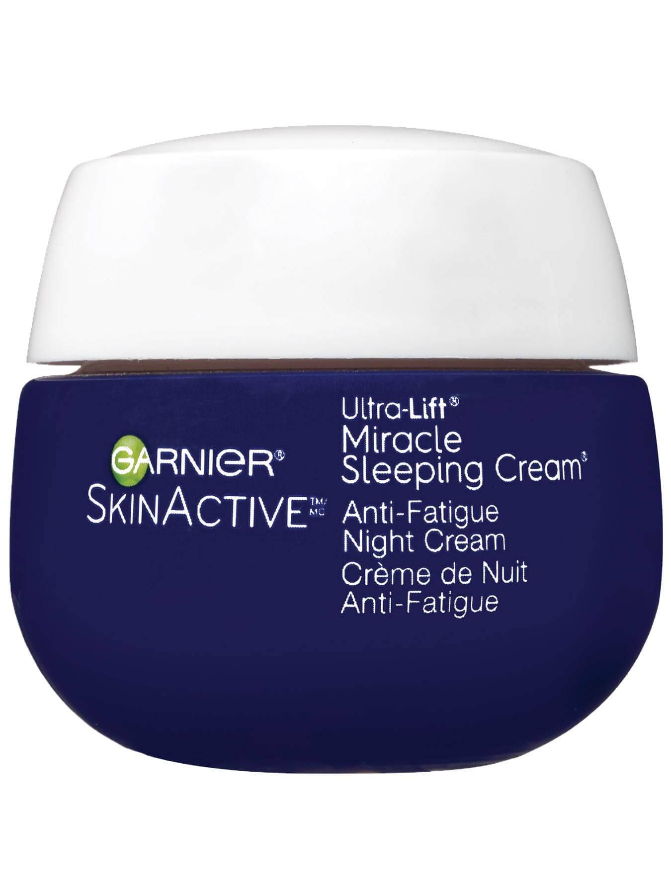 Front view of Ultra Lift Miracle Anti-Fatigue Sleeping Cream.