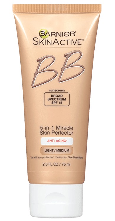 Garnier SkinActive Miracle Skin Perfector BB Cream Anti-Aging - Light/Medium fr Anti-Aging
