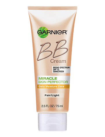 Garnier SkinActive BB Cream package miracle skin perfector bb cream anti acne fair